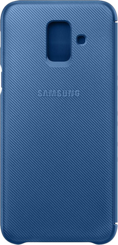 Samsung Galaxy A6 (2018) Wallet Cover Book Case Blauw Main Image
