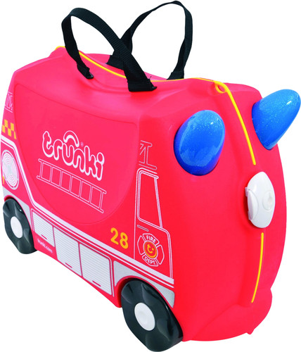 Trunki Ride-On Fire Truck Frank Main Image