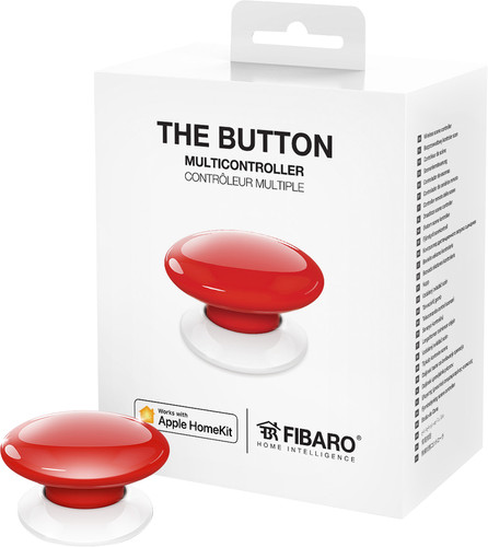 Fibaro The Button HomeKit Rood Main Image