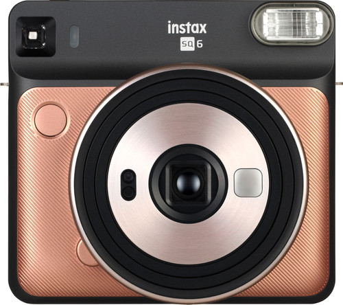 Fujifilm Instax SQUARE SQ6 Blush Gold Main Image