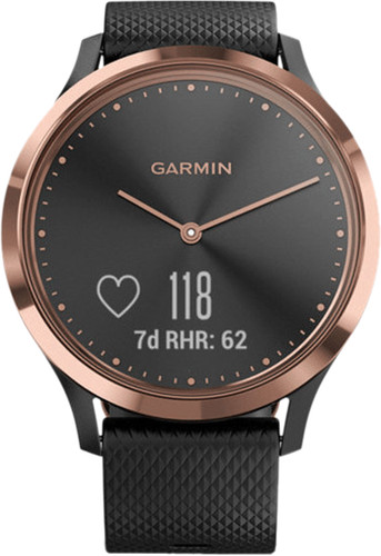 Garmin Vivomove HR Sport Rose Gold Main Image