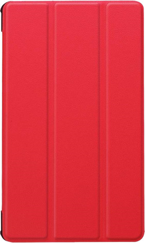 Just in Case Tri-Fold Huawei MediaPad M5 8 Book Case Rood Main Image