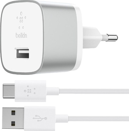 Belkin Oplader met Usb C Kabel 18 Watt Quick Charge 3.0 Wit Main Image