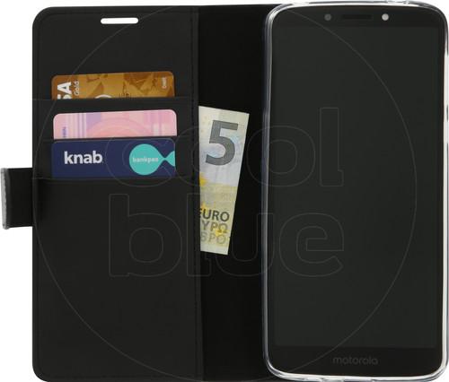 Azuri Wallet Magneet Motorola Moto E5 Plus Book Case Zwart Main Image