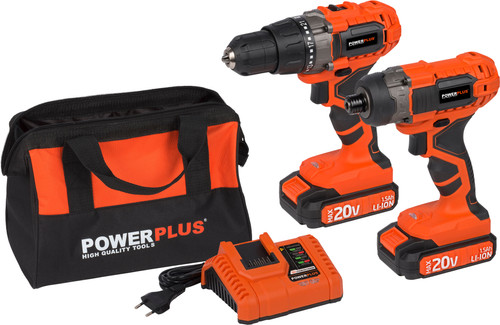 Powerplus Dual Power POWDP1550 Combi Set Main Image