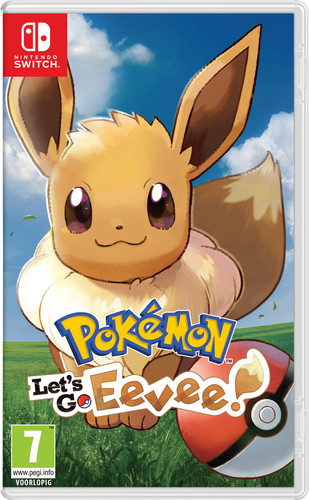 Pokemon Let's Go Eevee Switch Main Image