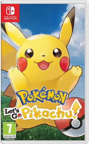 Pokemon Let's Go Pikachu Switch Main Image