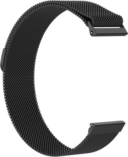 Just in Case Fitbit Versa Milanese Watchband Black Main Image