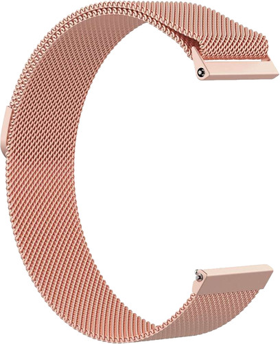 Just in Case Fitbit Versa Milanese Watchband Rose Gold Main Image