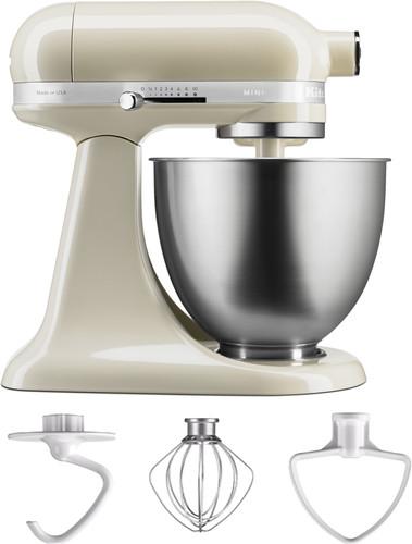KitchenAid Artisan Mini Mixer 5KSM3311XEAC Almond White Main Image