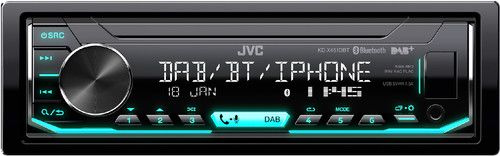 JVC KD-X451DBT Main Image