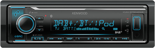 KENWOOD KMM-BT504DAB Main Image