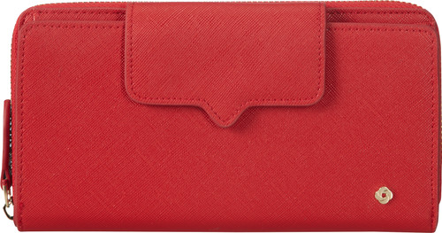 Samsonite Miss Journey SLG Wallet 18CC Scarlet Red Main Image