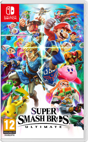Super Smash Bros. Ultimate Switch Main Image