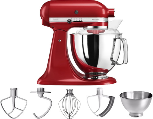 KitchenAid Artisan Mixer 5KSM175PS Empire Red Main Image