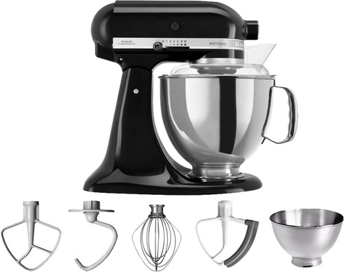 KitchenAid Artisan Mixer 5KSM175PS Onyx black Main Image