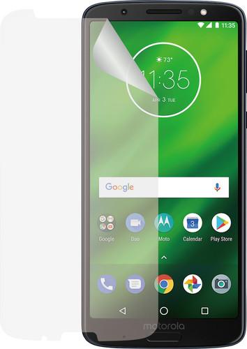 Azuri Motorola Moto G6 Plus Screen Protector Plastic Duo Pack Main Image