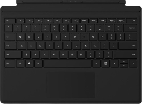 Microsoft Surface Go Typing Cover QWERTY Black Main Image