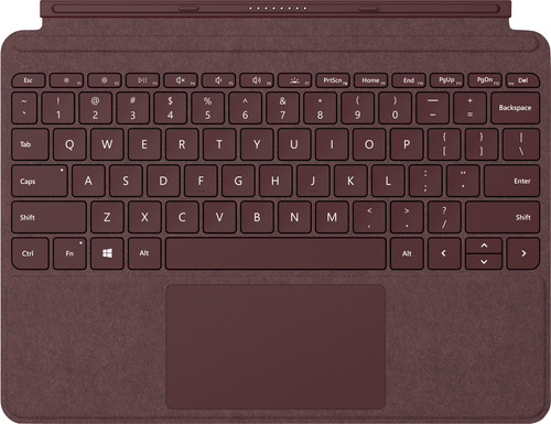 Microsoft Surface Go Type Cover QWERTY Red Main Image