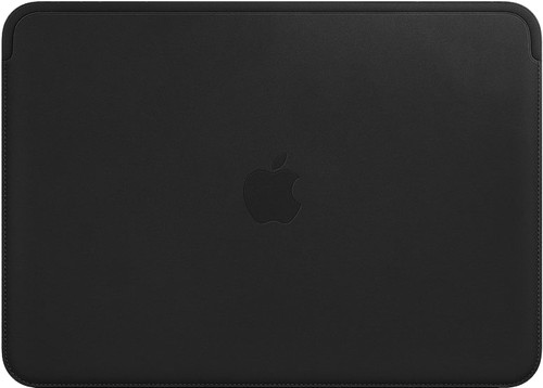 """Apple MacBook 12"""" Leather Sleeve Black Main Image"""