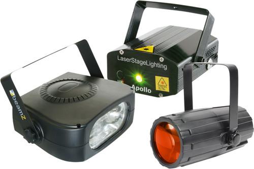Beamz Light Package 4: Moon+LaserR/G+ 150 Main Image