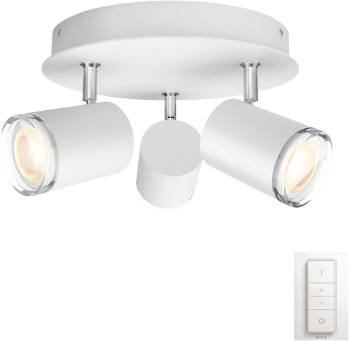 Philips Hue Adore 3-Spot Rond Wit Main Image
