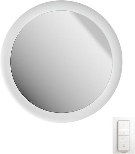 Hue Adore Mirror and Wall lamp White Main Image