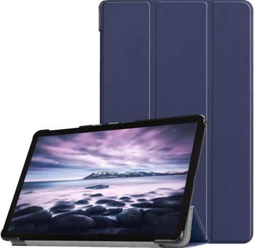 Just in Case Samsung Galaxy Tab A 10.5 Smart Tri-Fold Case Blauw Main Image