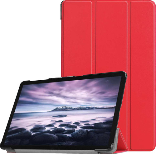 Just in Case Samsung Galaxy Tab A 10.5 Smart Tri-Fold Case Rood Main Image