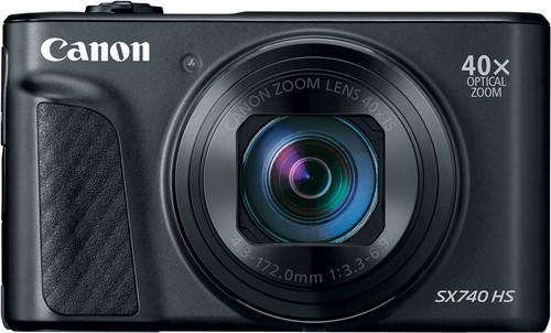 Canon PowerShot SX740 HS Black Main Image