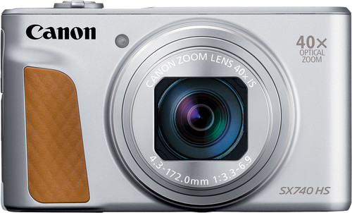 Canon PowerShot SX740 HS Zilver Main Image