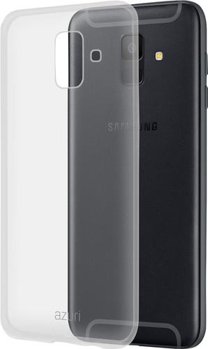 Azuri TPU Samsung A6 Back Cover Transparant Main Image