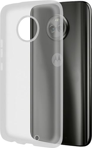 Azuri Glossy TPU Motorola Moto G6 Plus Transparant Main Image