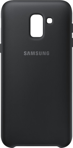 Samsung Galaxy J6 (2018) TPU Back Cover Zwart Main Image