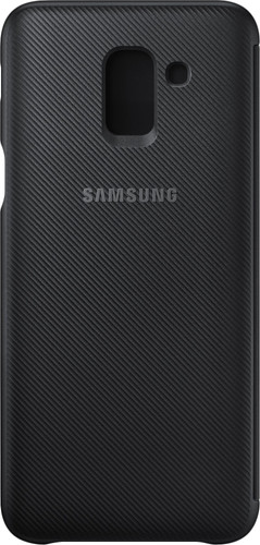 Samsung Galaxy J6 (2018) Wallet Cover Book Case Zwart Main Image