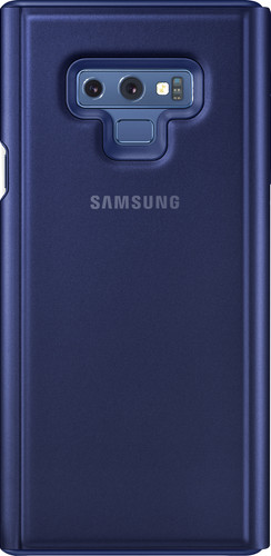 Samsung Galaxy Note 9 Clear View Stand Book Case Blauw Main Image