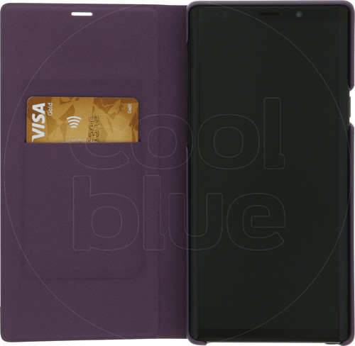 Samsung Galaxy Note 9 LED View Cover Book Case Paars Main Image