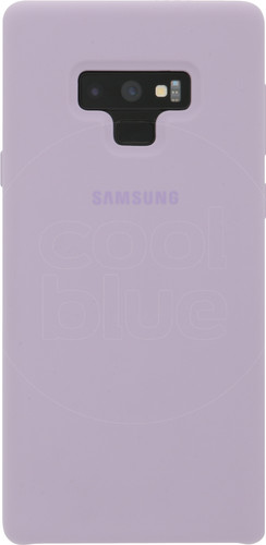 Samsung Galaxy Note 9 Silicon Back Cover Paars Main Image