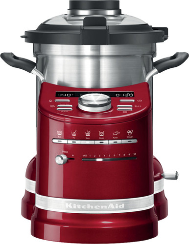 KitchenAid Artisan Cook Processor Apple Red Main Image