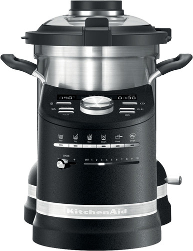 KitchenAid Artisan Cook Processor Volcano Black Main Image