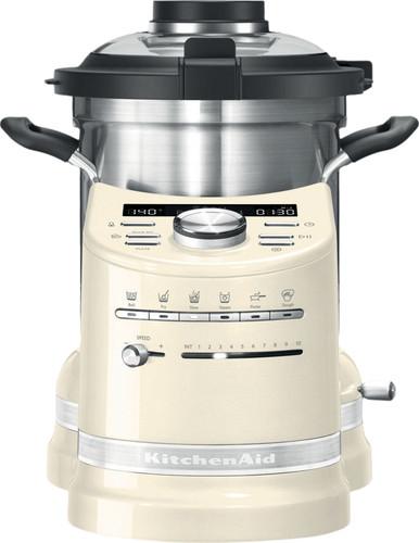 KitchenAid Artisan Cook Processor Almond White Main Image