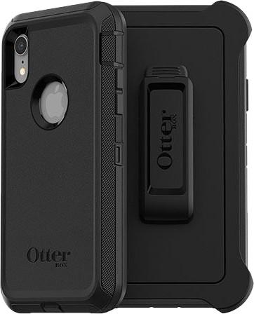 Otterbox Defender Apple iPhone Xr Back Cover Zwart Main Image