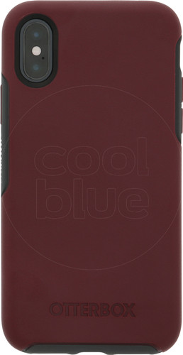 Otterbox Symmetry Apple iPhone Xs Back Cover Rood Main Image