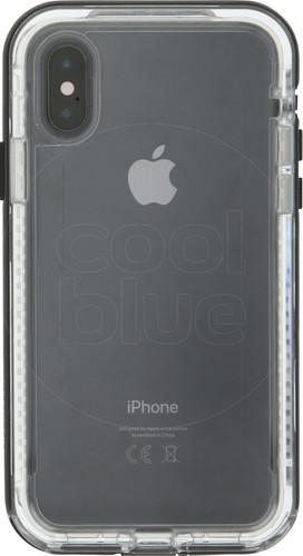Lifeproof Next Apple iPhone Xs Back Cover Zwart Main Image