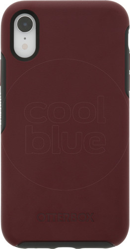 Otterbox Symmetry Apple iPhone Xr Back Cover Rood Main Image