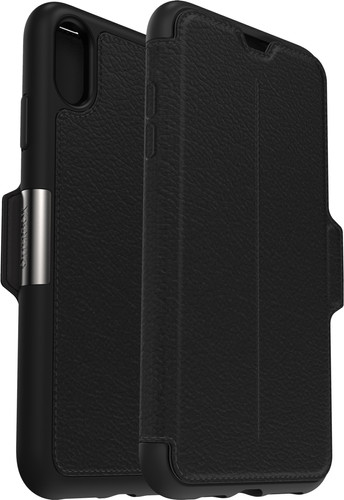 Otterbox Strada Apple iPhone Xs Max Book Case Zwart Main Image