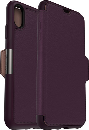 Otterbox Strada Apple iPhone Xs Max Book Case Paars Main Image