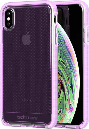 Tech21 Evo Check Apple iPhone Xs Max Back Cover Roze Main Image