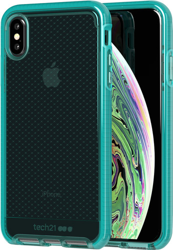 Tech21 Evo Check Apple iPhone Xs Max Back Cover Groen Main Image