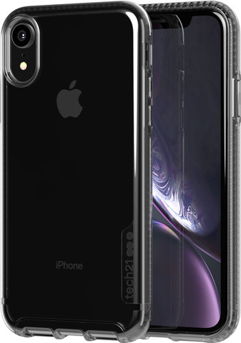 Tech21 Pure Carbon Apple iPhone XR Back Cover Zwart Main Image